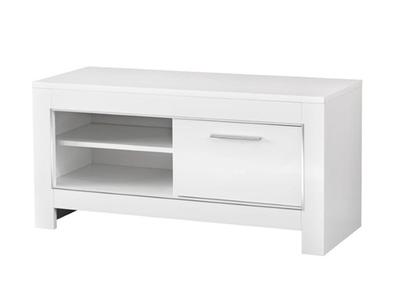 petit meuble tv blanc