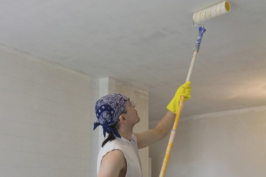 quel rouleau pour peindre un plafond