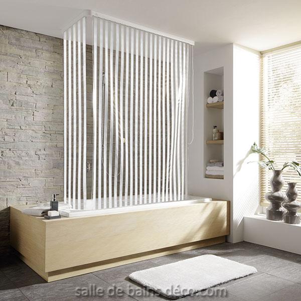 rideaux de baignoire