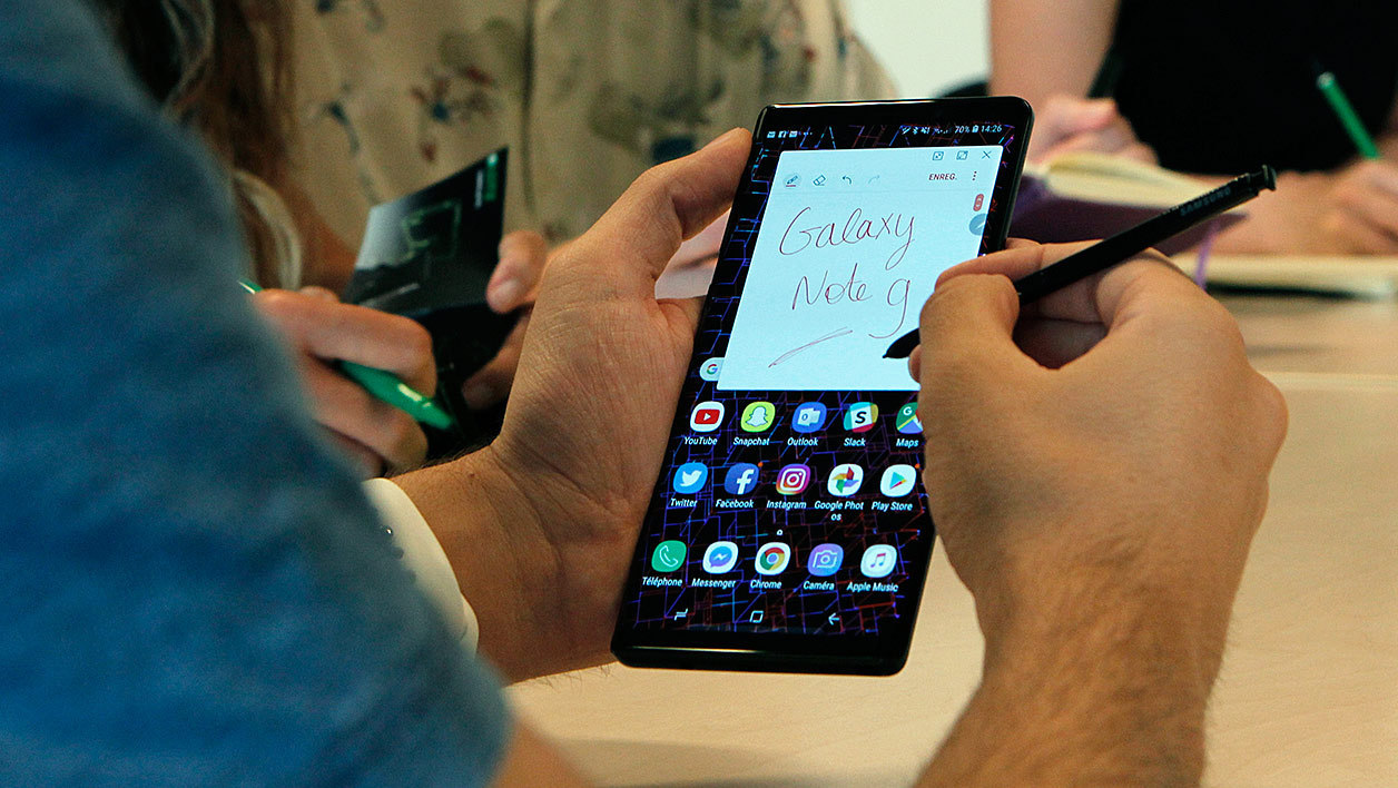 smartphone grand ecran 7 pouces
