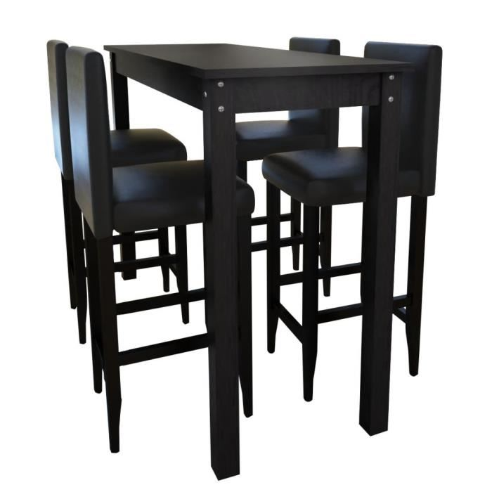 table de bar 4 tabourets