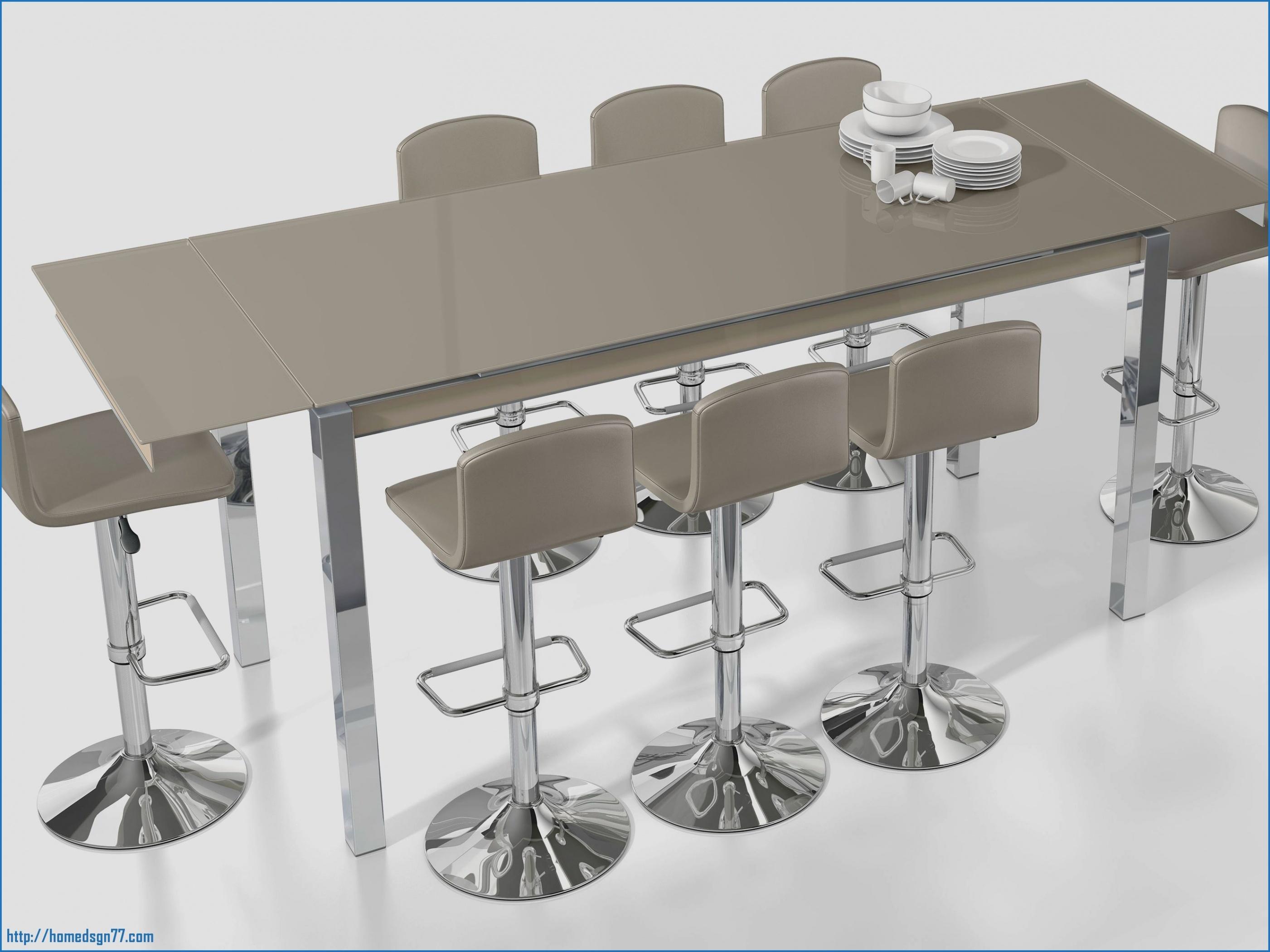 table haute 6 personnes
