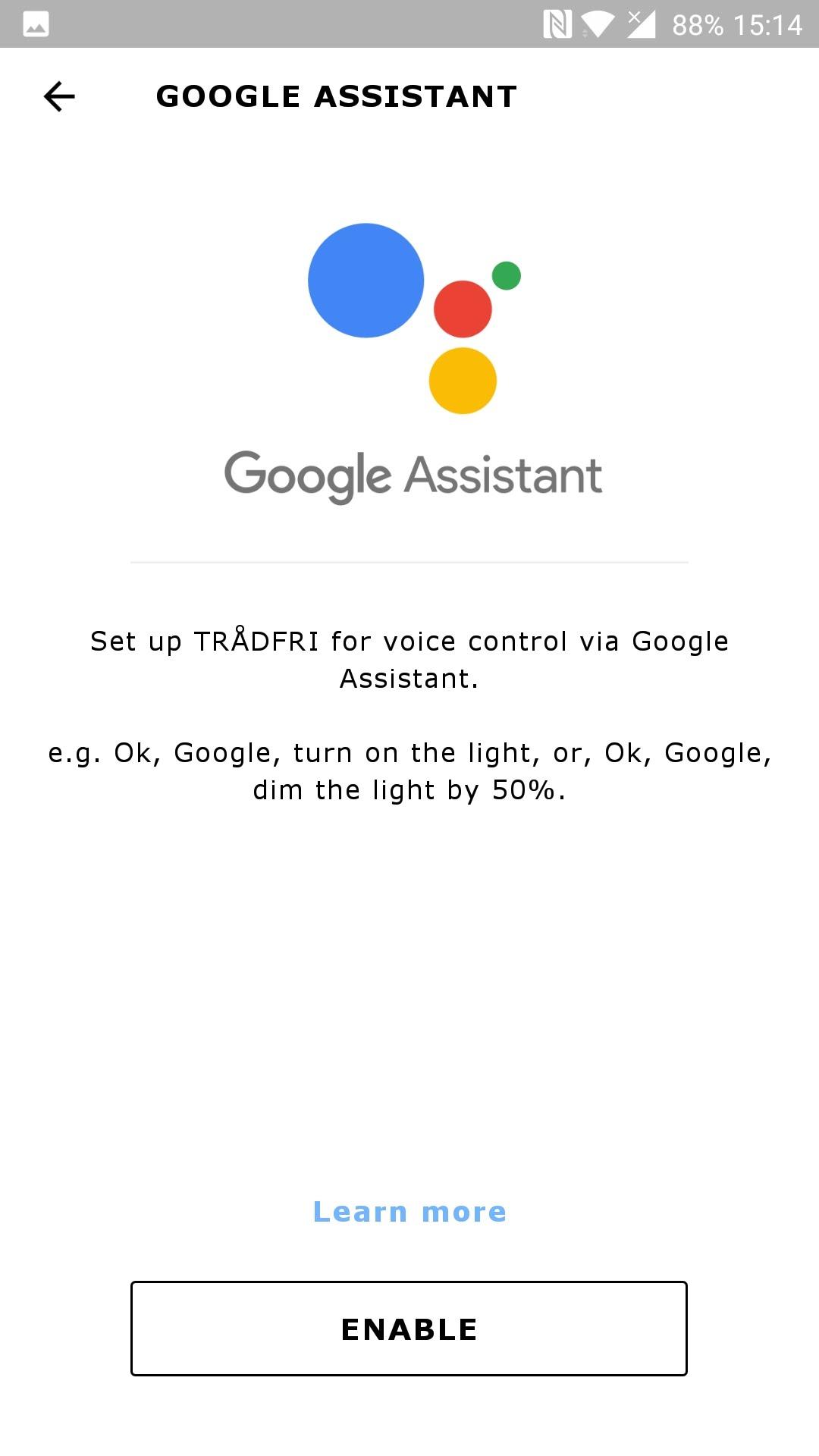 trådfri google home